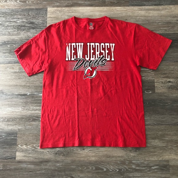 pretty nice 9ce38 838a4 New Jersey Devils Throwback Shirt